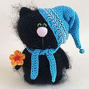 Stuffed Toys handmade. Livemaster - original item Kitty - crayon.. Handmade.