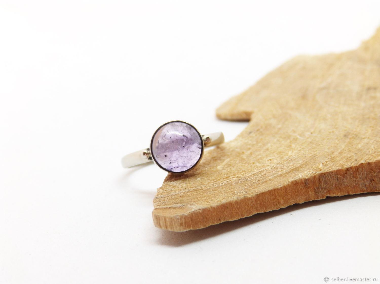 16 R. Lavender Amethyst ring (la16), Rings, Gatchina,  Фото №1