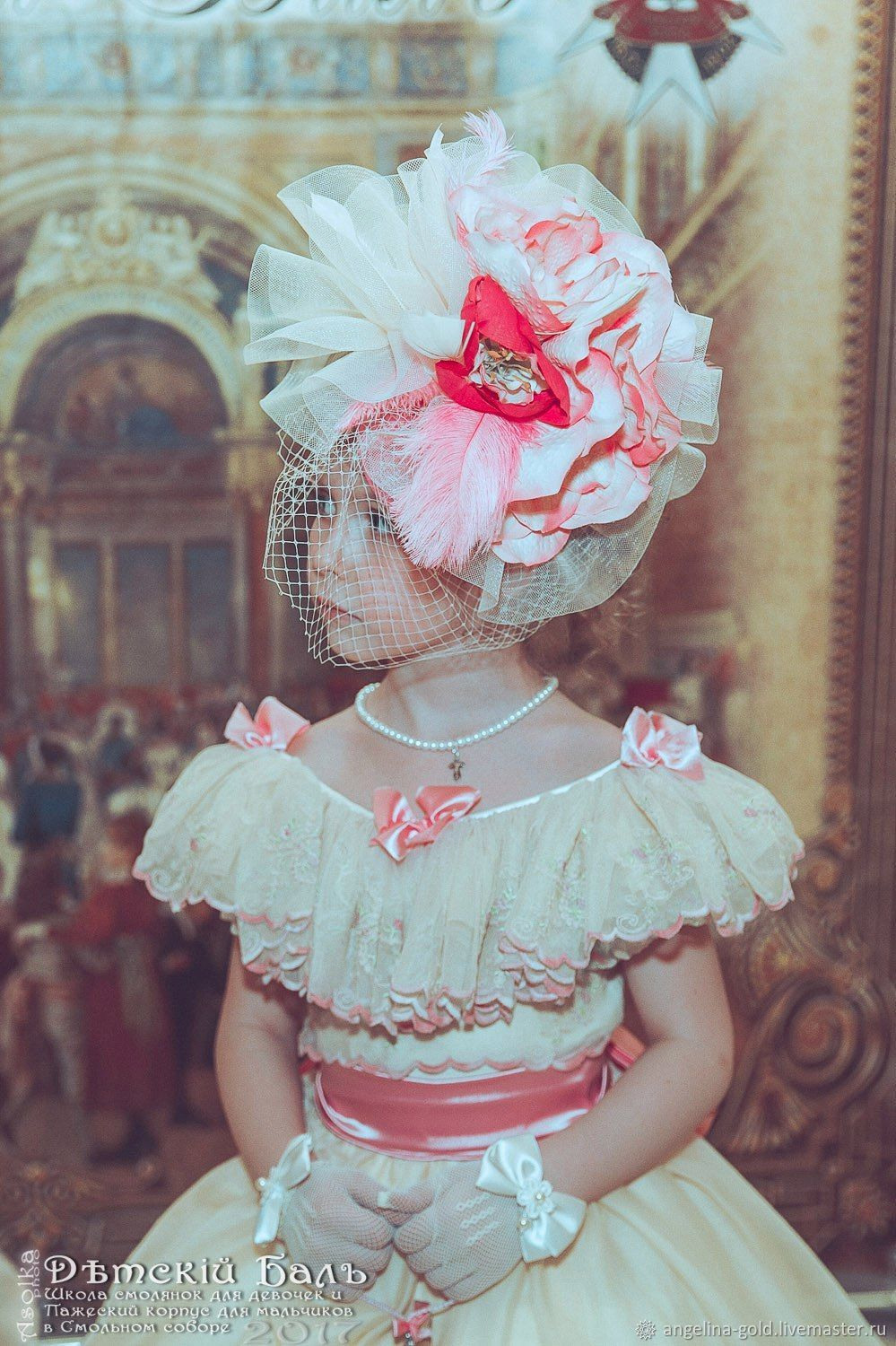 Clothing for girls, handmade. Buy a young Princess ball gown.