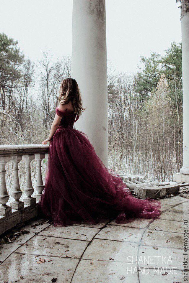 Платье фатиновое в пол, Платья, Москва, Фото №1