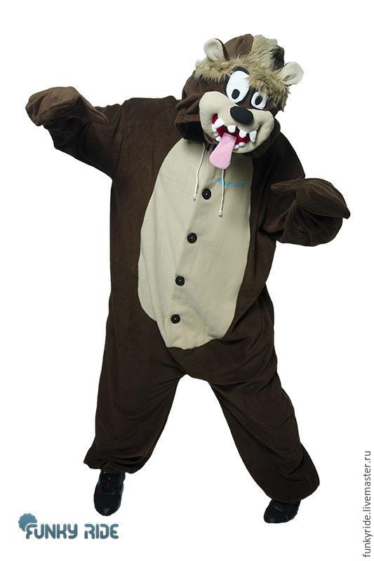Tasmanian Devil - Looney Tunes - Kigurumi - Custom Handmade, Cosplay costumes, Magnitogorsk,  Фото №1