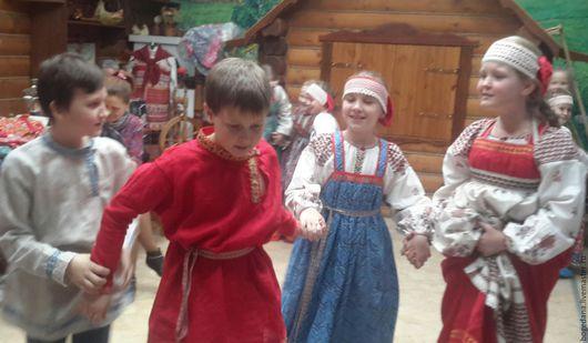 Одежда ручной работы. Ярмарка Мастеров - ручная работа. Купить Русский костюм для мальчиков 10 - 15лет. Handmade. Русский стиль