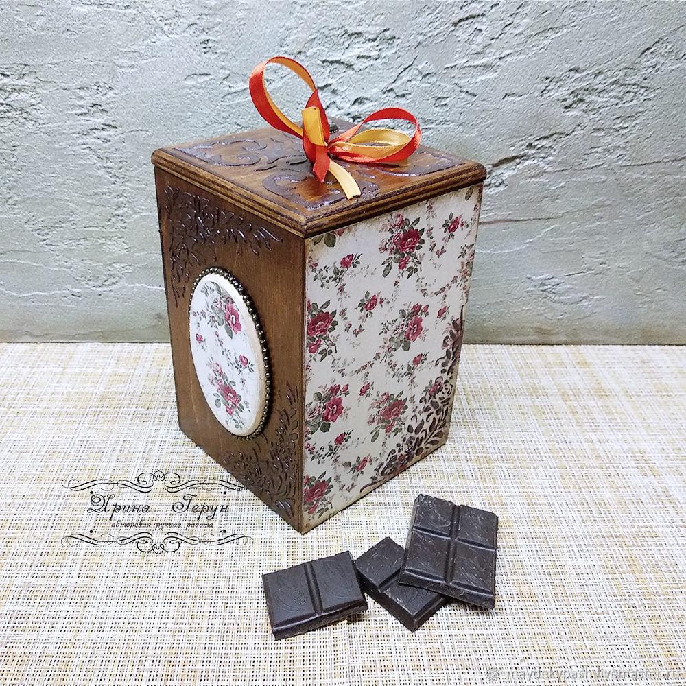 Короб для сыпучих продуктов, для сладостей, Короб, Шацк,  Фото №1