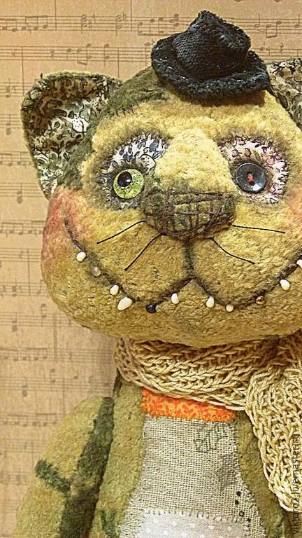 Мишки Тедди ручной работы. Ярмарка Мастеров - ручная работа. Купить Драник УТоплЁнкин. Handmade. Бежевый, друг, мышь, хлопок