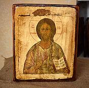 Картины и панно handmade. Livemaster - original item The icon of the Lord Usedigital 19th centuries. Handmade.