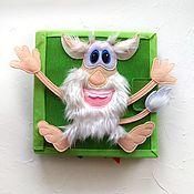 Мягкие игрушки ручной работы. Ярмарка Мастеров - ручная работа Игрушки:  Развивающая тактильная книга для мальчика. Handmade.