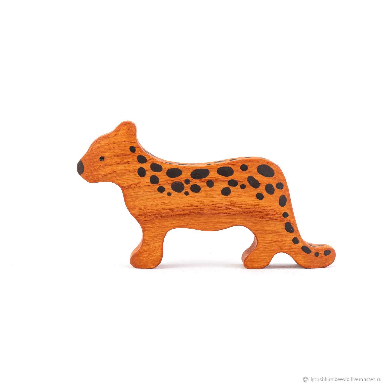 Леопард, Вальдорфские куклы и звери, Смоленск,  Фото №1