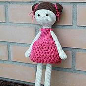 Мягкие игрушки ручной работы. Ярмарка Мастеров - ручная работа Кукла Юля. Handmade.
