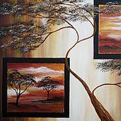 """Картины и панно ручной работы. Ярмарка Мастеров - ручная работа Картина """"Миражи"""". Handmade."""