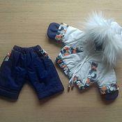 Одежда для кукол ручной работы. Ярмарка Мастеров - ручная работа В НАЛИЧИИ.Зимняя одежда на беби бон. Handmade.