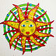 Panels of stained glass, fusing 'a Star named the Sun', Stained glass, Odessa,  Фото №1