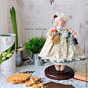 """Куклы и игрушки ручной работы. Ярмарка Мастеров - ручная работа Толстушка """"Чай с печеньем"""".. Handmade."""