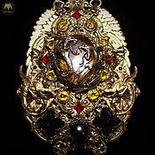 Украшения handmade. Livemaster - original item Amulet certified fluorite pearl aventurine agate Charon video. Handmade.