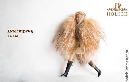 Одежда для кукол ручной работы. Ярмарка Мастеров - ручная работа. Купить Шуба для куклы Barbie, коллекционные куклы из лисы. Handmade.