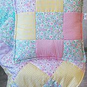 Комплекты одежды ручной работы. Ярмарка Мастеров - ручная работа Лоскутное одеялко и подушечка. Handmade.