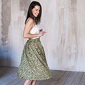 Одежда ручной работы. Ярмарка Мастеров - ручная работа Мелодия Лета (юбка). Handmade.
