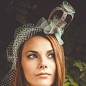 """Аксессуары ручной работы. Ярмарка Мастеров - ручная работа Вечерняя шляпка - """"Принцеска"""". Handmade."""