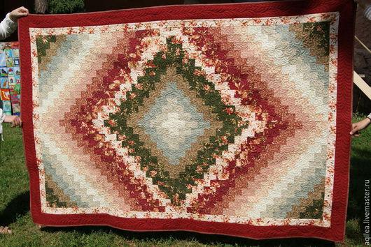 """Текстиль, ковры ручной работы. Ярмарка Мастеров - ручная работа. Купить Покрывало """"После дождя"""". Handmade. Разноцветный, пэчворк, хлопок"""