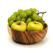 Посуда handmade. Livemaster - original item Deep plate of acacia D20 H7,5. Bowl. Handmade.