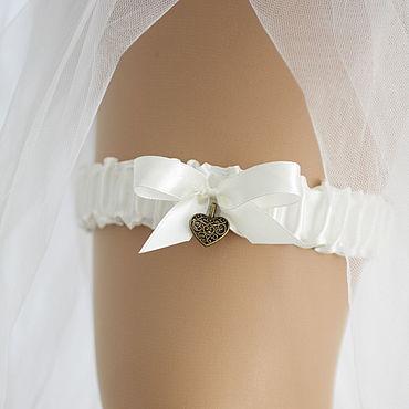 """Свадебный салон ручной работы. Ярмарка Мастеров - ручная работа Подвязка для невесты """"Ванга"""". Handmade."""