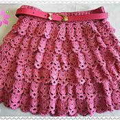 Вязание юбочек на девочек 346