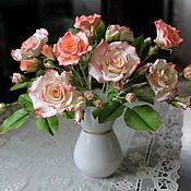 Цветы и флористика handmade. Livemaster - original item Bouquet of polymer clay