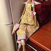 Куклы и игрушки handmade. Livemaster - original item Summer angel, the angel of the garden. Handmade.