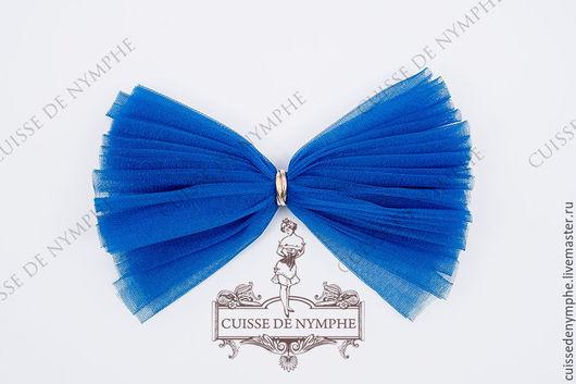 Шитье ручной работы. Ярмарка Мастеров - ручная работа. Купить Фатин Сапфирово-синий (Sapphirrine blue), KRST-1044. Handmade.