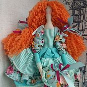 Куклы Тильда ручной работы. Ярмарка Мастеров - ручная работа Кукла тильда. Ангел Мелисса. Handmade.