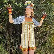Одежда ручной работы. Ярмарка Мастеров - ручная работа Лесная царевна Осень - карнавальный костюм, наряд для фотосессии. Handmade.