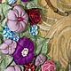 Женские сумки ручной работы. Сумка Райский Сад. Орхидея (Наталья). Ярмарка Мастеров. Цветы из ткани