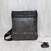 Сумки и аксессуары handmade. Livemaster - original item Genuine leather messenger bag. Handmade.