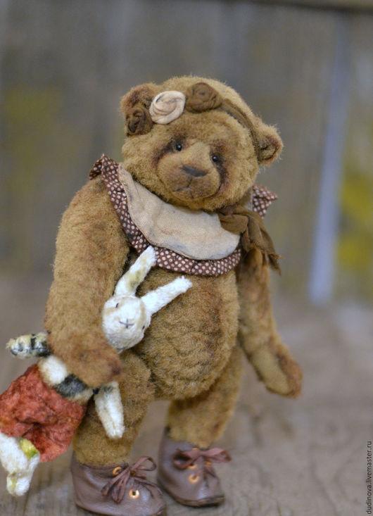 Мишки Тедди ручной работы. Ярмарка Мастеров - ручная работа. Купить Варюша. Handmade. Коричневый, винтажный стиль