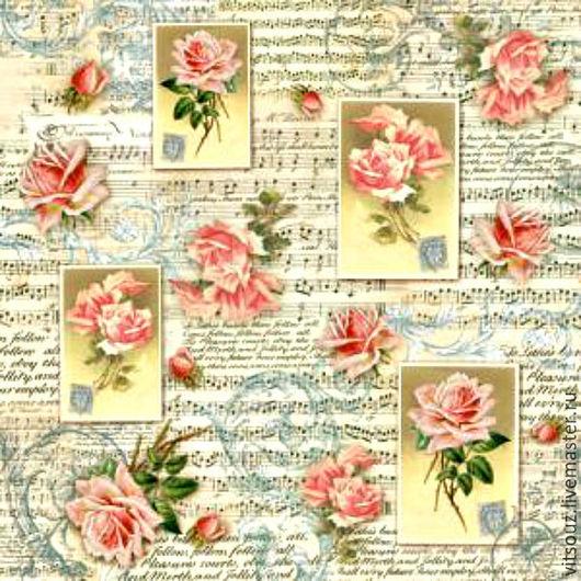 Арт. В-DFT196-`Розы и музыка`
