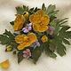 цветы из кожи,кожаные цветы,кожаные изделия цветы,аксессуары из кожи,аксессуары для волос заколка,заколка желтый цветок,женский браслет из кожи,ободок для волос с цветами,обруч для волос с цветком, ко
