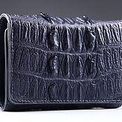 Сумки и аксессуары handmade. Livemaster - original item Wallet crocodile leather IMA0216E2. Handmade.