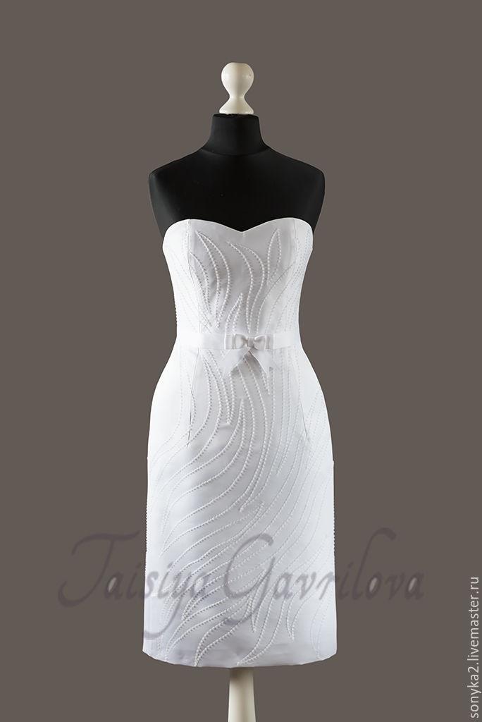 Свадебное платье короткое, Платья, Санкт-Петербург, Фото №1