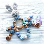 Куклы и игрушки handmade. Livemaster - original item Teether-rattle