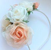 Украшения handmade. Livemaster - original item FABRIC FLOWERS. Bezel