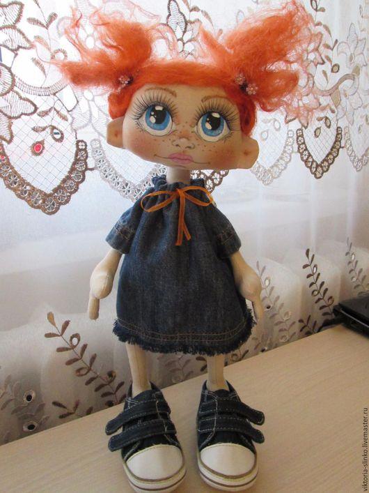 Куклы Тильды ручной работы. Ярмарка Мастеров - ручная работа. Купить куколка. Handmade. Комбинированный, интерьерная кукла, тильда