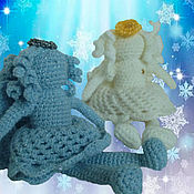 Куклы и игрушки ручной работы. Ярмарка Мастеров - ручная работа Зимний ангел. Handmade.