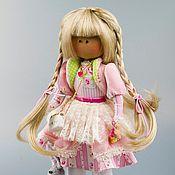 Куклы и игрушки ручной работы. Ярмарка Мастеров - ручная работа Кукла тильда Зефиринка. Handmade.