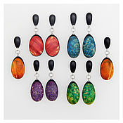 Украшения handmade. Livemaster - original item Bright earrings. Handmade.