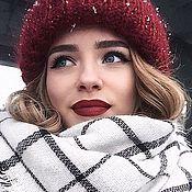 Аксессуары handmade. Livemaster - original item Mohair women`s hat