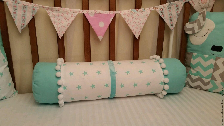 Бортики в детскую кроватку своими руками. Схемы, выбор материалов, пошив 78