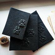 """Блокноты ручной работы. Ярмарка Мастеров - ручная работа Блокноты: Коллекция """"Волчий след"""". Handmade."""