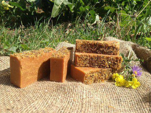 Натуральное мыло `Медовая календула`