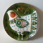 Посуда handmade. Livemaster - original item Plate ceramic