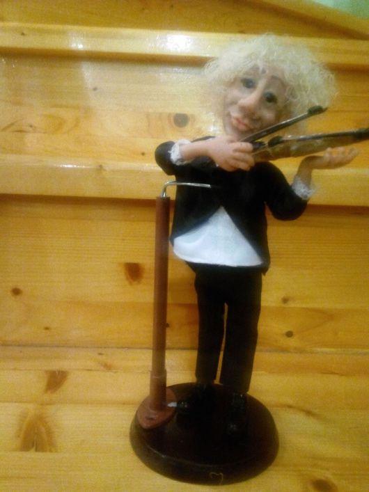 Коллекционные куклы ручной работы. Ярмарка Мастеров - ручная работа. Купить Кукла скрипач. Handmade. Кукла ручной работы