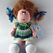 Куклы и игрушки ручной работы. Ярмарка Мастеров - ручная работа кукла вязаная Маргоша. Handmade.